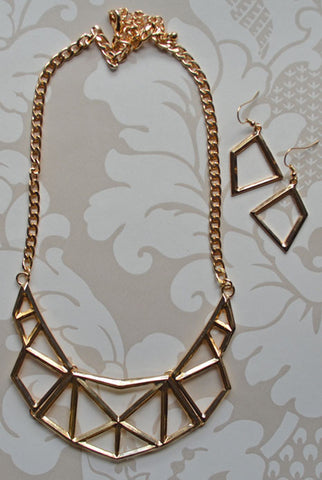 Geometric Warrior Princess Necklace
