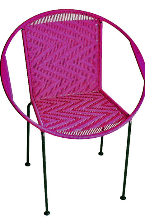 Gigi Fuchsia Chair