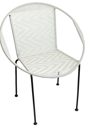 Gigi White Chair
