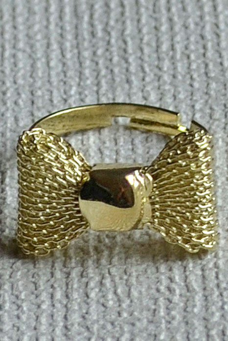 Bow Ring Gold