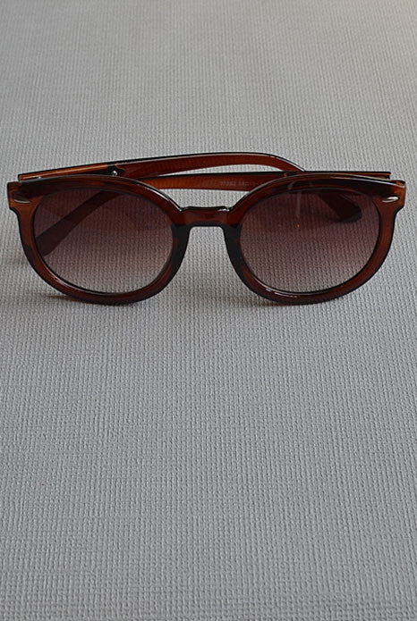 Karen Sunglasses Brown