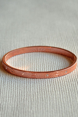 Love Me Bangle Rose Gold