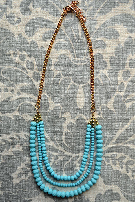 Sweet Dream Necklace Blue
