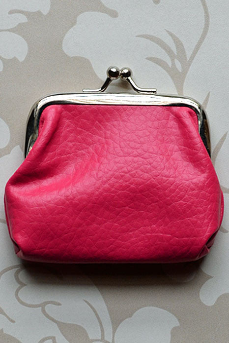 Petite Coin Purse Hot Pink