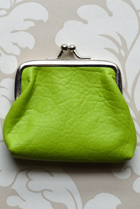 Petite Coin Purse Apple Green