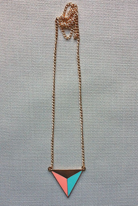 Trio Necklace Pastel