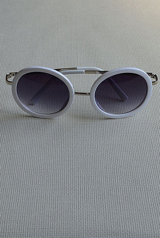 Vintage Sunglasses White