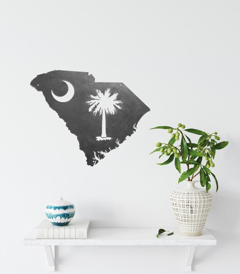 South Carolina Wall Art by Highland Ridge Decor