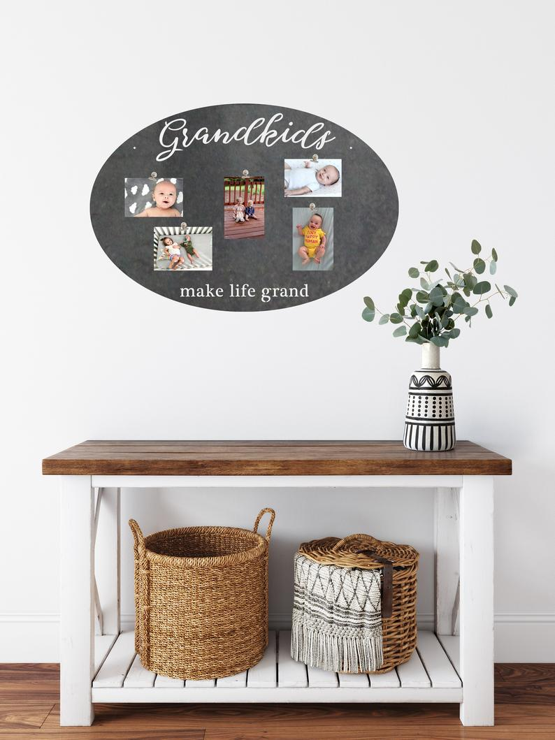 Grandkids Make Life Grand Magnet Board by Highland Ridge Decor
