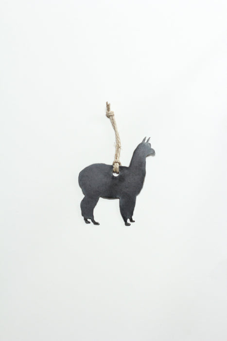 Llama Christmas Tree Ornament