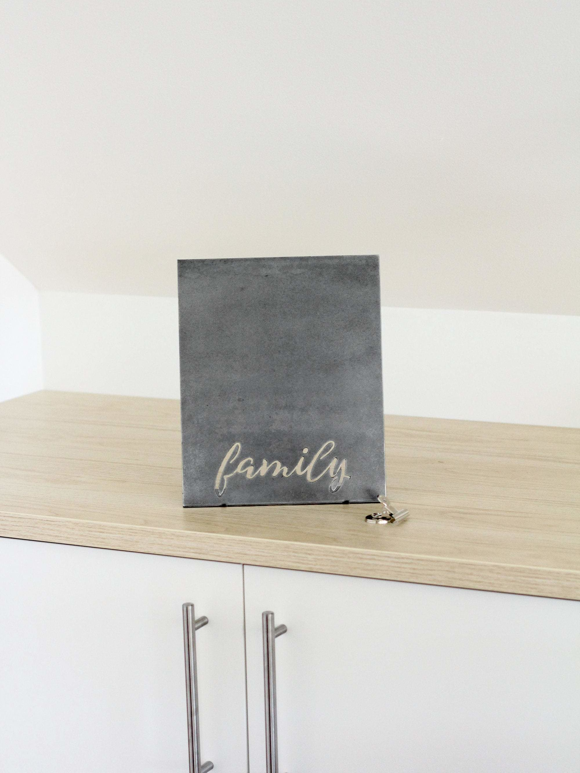 Magnetic Family Photo Frame