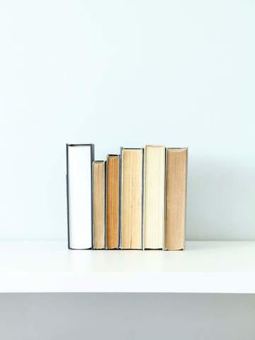 Invisible Bookends by Highland Ridge Decor