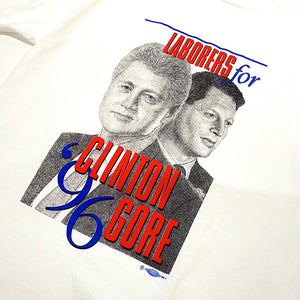 96' CLINTON GORE TEE USED