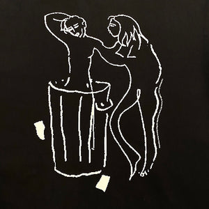 TRASH CAN HEAVY WEIGHT HOODIE