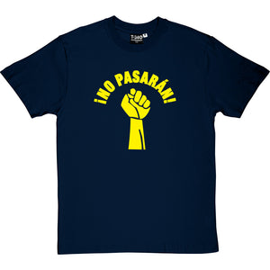 "No Pasarán ""Fist"" Men's T-Shirt"