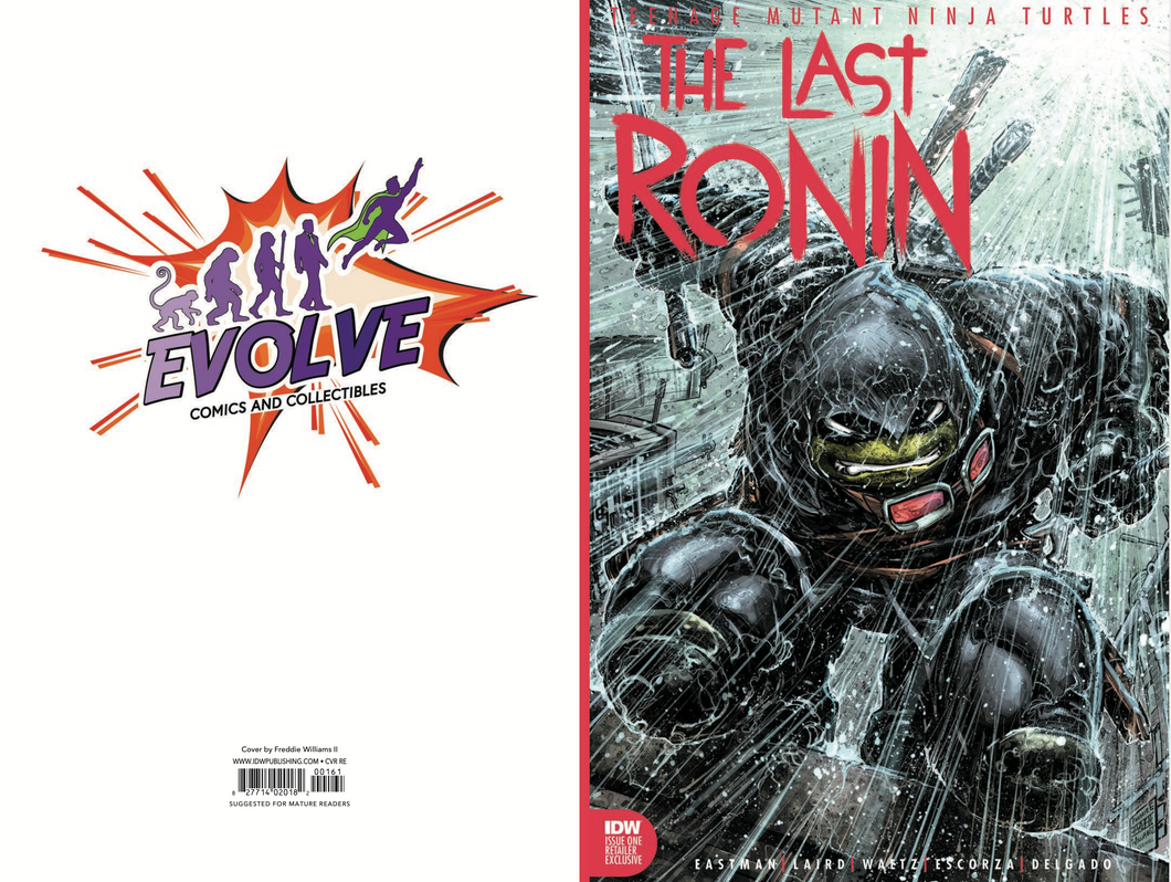 Last Ronin 1 Evolve Comics and Collectibles Exclusive Color Variant