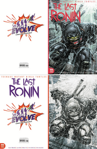 Last Ronin 1 Evolve Comics and Collectibles Exclusive Variant Set