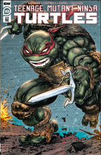 Load image into Gallery viewer, TMNT 108 Evolve Comics and Collectibles Raphael Variant Set by Freddie Williams II