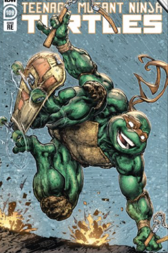 TMNT 109 Evolve Comics and Collectibles Exclusive Color Variant