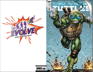 TMNT 110 Evolve Comics and Collectibles Color Variant