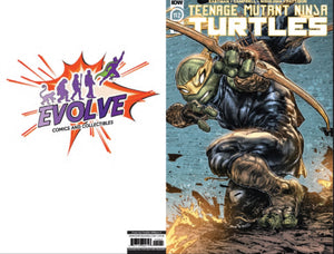 TMNT 112 Evolve Comics and Collectibles color variant (pre-sale)