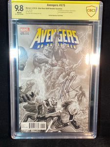 Avengers 675 CBCS 9.8 1:100 Ross Variant 1st Appearance of Voyager