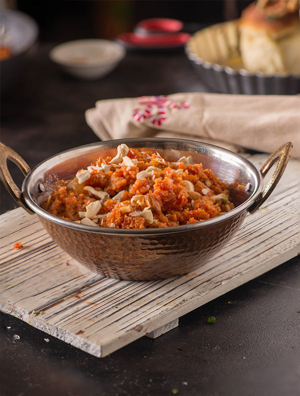 Gajar Halwa Made With Manorma Desi Ghee
