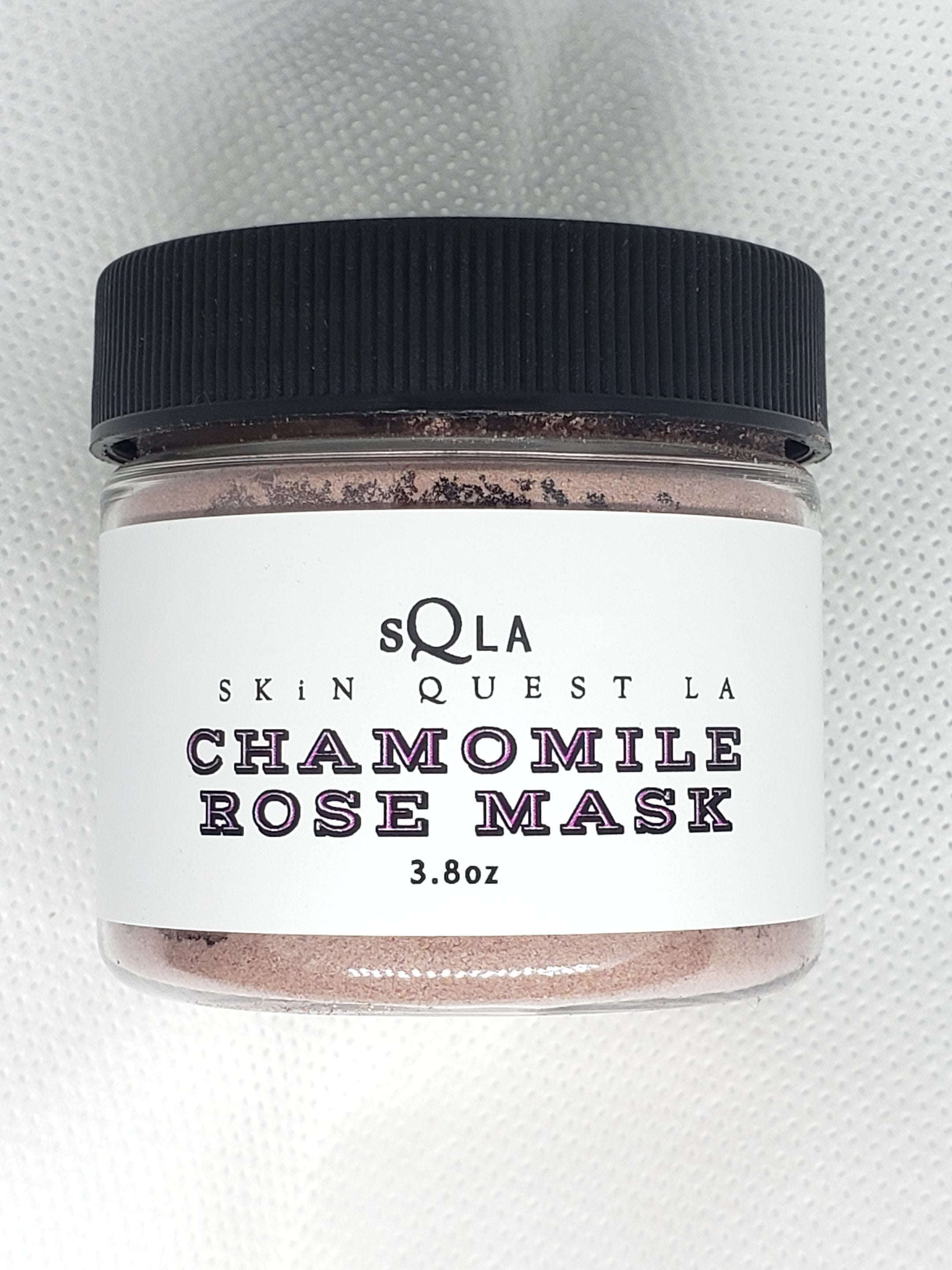 Chamomile Rose Clay Mask