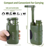 Portable Pump-Action Outdoor Water Purifier