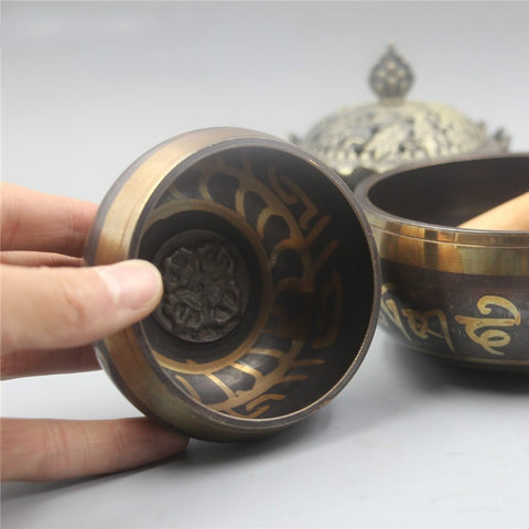 8cm Tibetan Singing Bowl