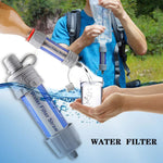 Portable Outdoor Water Filter and Purifier