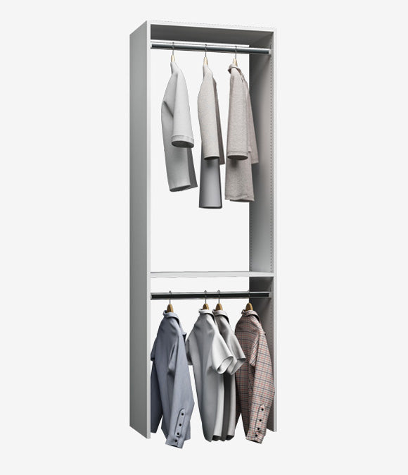 Capital Wall Hung Closets - Hanging Double