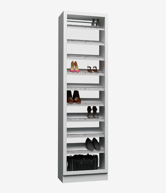 Capital Floor Based - Glass Cover Single Hanging Shoes Shelf