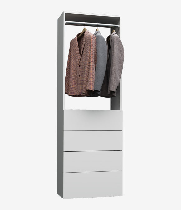 Capital Wall Hung Closets - 4 Drawer Hanging