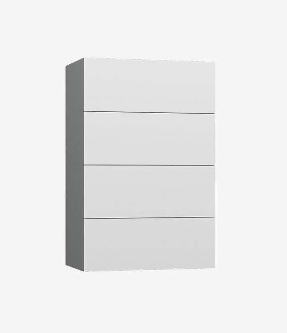 Capital Wall Hung Closets - 4 Drawers