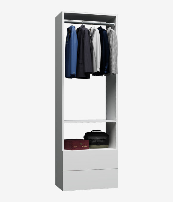 Capital Wall Hung Closets - Two Drawers Hanging Organizer