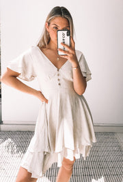 Patience Dress - Beige