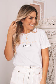 Cannes Tee - White