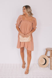 Latte Dress - Tan