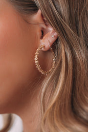 Jessie Earrings - Gold