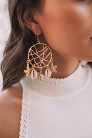 Torquay Earrings - Gold