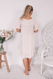 Pamela Dress - Beige