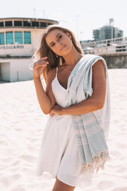 Turkish Towel - Light Blue