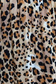 Taurus Dress - Leopard Print