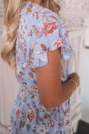 Marina Dress - Light Blue