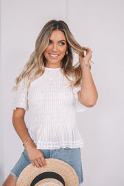 Kiana Top - White