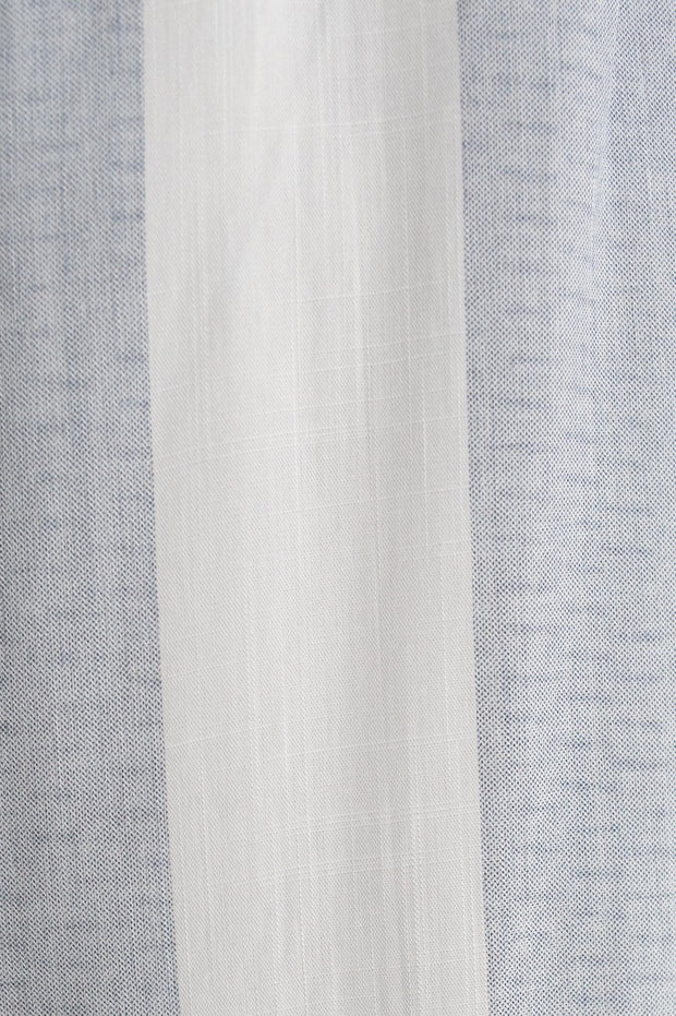 Fisher Dress - Blue Stripe