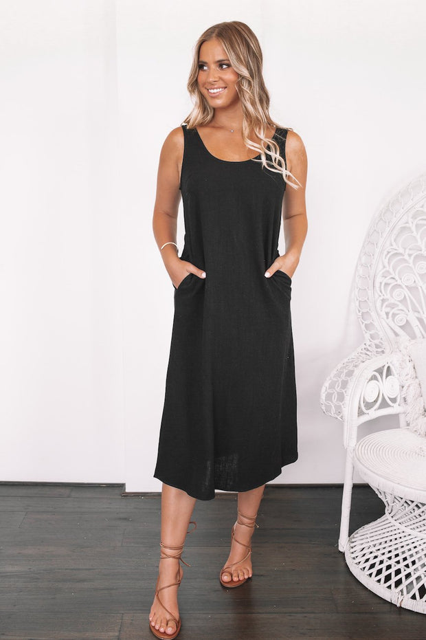 Baked Dress - Black