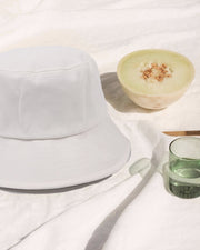 Chanti Bucket Hat - White