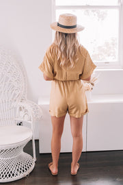 Costa Playsuit - Yellow